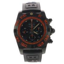 Breitling Chronomat 44 Raven Stahl 44mm Schwarz Keine Ziffern
