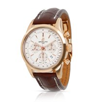 Breitling Transocean Chronograph Rose gold 43mm Silver United States of America, New York, New York
