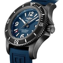 Breitling Superocean Acero 46mm Azul Arábigos