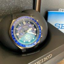 Seiko Astron GPS Solar Chronograph Acier 46.7mm Bleu France, dijon
