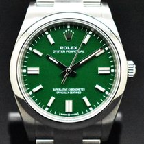 Rolex Oyster Perpetual 36 Acero 36mm Verde Sin cifras España, Barcelona