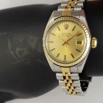 Rolex Lady-Datejust Or/Acier 26mm Or Sans chiffres France, Paris