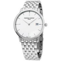 Frederique Constant Slimline Automatic Steel 40mm Silver United States of America, New Jersey, Somerset
