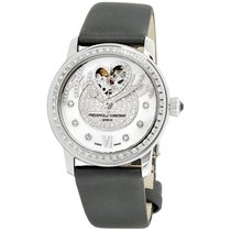 Frederique Constant Ladies Automatic Heart Beat Steel 34mm White Roman numerals United States of America, New Jersey, Somerset