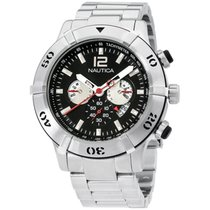 Nautica Steel 46mm Quartz A36508G-SD United States of America, New Jersey, Somerset
