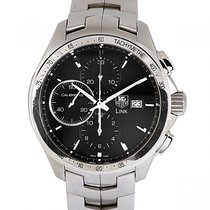 TAG Heuer pre-owned Automatic 43mm Black Sapphire crystal 10 ATM