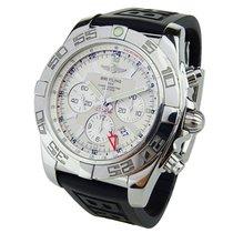 Breitling Chronomat GMT Acero 47mm Plata