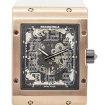 Richard Mille RM 016 Oro rosa 48mm Transparente