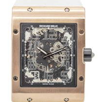 Richard Mille RM 016 Oro rosa 48mm Transparente