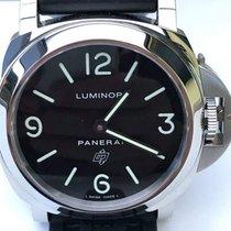 Panerai Luminor Base Logo nuevo 2016 Cuerda manual Reloj con estuche y documentos originales PAM 00000