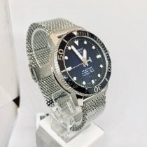 Tissot Seastar 1000 Сталь 43mm Синий Без цифр