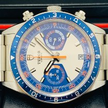 Tudor Heritage Chrono Blue 70330B New Steel 42mm Automatic