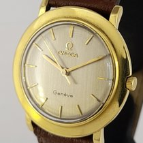 Omega Genève Or jaune 33,7mm Argent Sans chiffres France, Paris
