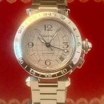 Cartier Pasha C Steel 35mm Silver Arabic numerals United States of America, California, Upland