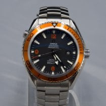 Omega Seamaster Planet Ocean Steel Black Arabic numerals United States of America, Tennesse, Morristown