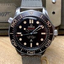 Omega Seamaster Diver 300 M Titanium 42mm Black No numerals United Kingdom, Wilmslow