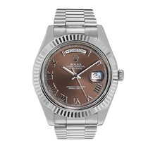 Rolex Day-Date II 218239 Very good White gold 41mm Automatic United States of America, New York, New York