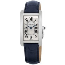 Cartier Tank Américaine Steel 26mm Silver Roman numerals United States of America, New York, New York
