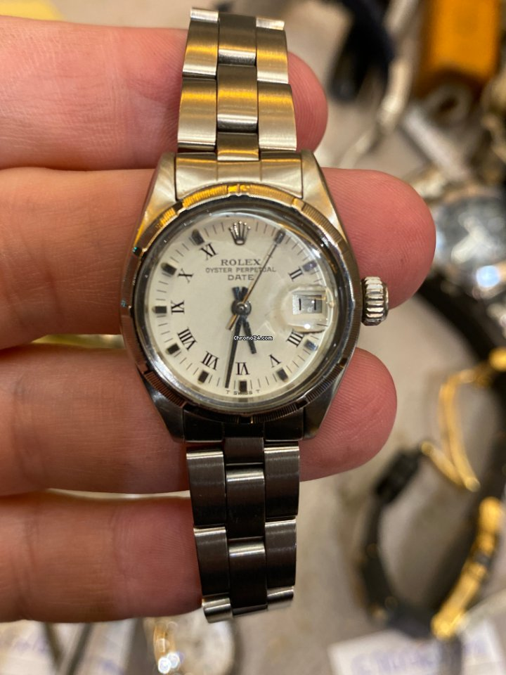 Rolex Oyster Perpetual Lady Date 6919 1980 usados