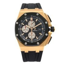 Audemars Piguet Or rose 44mm Remontage automatique Royal Oak Offshore occasion