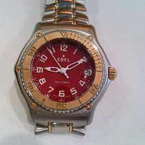 Ebel Discovery Steel 40mm Red Arabic numerals United States of America, Virginia, Arlington
