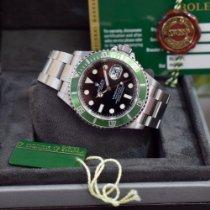 Rolex Submariner Date Acero 40mm Negro