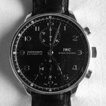IWC Portuguese Chronograph Acero 41mm Negro Arábigos México, Cuajimalpa