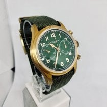 Montblanc Bronze Automatic Green Arabic numerals 42mm new 1858