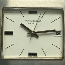 Favre-Leuba Steel 33mm Automatic pre-owned