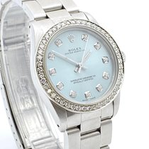 Rolex Oyster Perpetual 31 Acero 31mm Azul Sin cifras