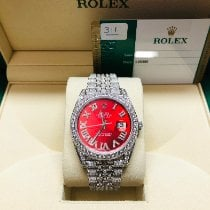 Rolex Datejust II Steel 41mm Red No numerals United States of America, Florida, West Palm Beach