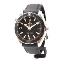 Omega Seamaster Planet Ocean Acier 45.5mm Noir Arabes