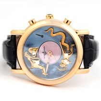 Ulysse Nardin Rose gold Automatic Mother of pearl 40mm pre-owned