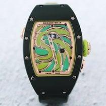 Richard Mille RM 037 Titan 34.4mm Grün Keine Ziffern