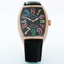 Franck Muller Color Dreams 7851 SC Πολύ καλό Ροζέ χρυσό 35mm Αυτόματη