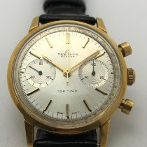 Breitling Gelbgold 1975 Top Time 36mm gebraucht