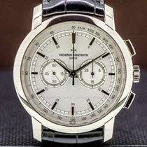 Vacheron Constantin Patrimony White gold Silver United States of America, Massachusetts, Boston