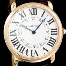 Cartier Roségold Handaufzug Römisch 42mm neu Ronde Louis Cartier