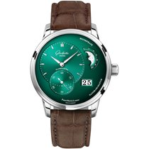 Glashütte Original PanoMaticLunar new Automatic Watch with original box and original papers 1-90-02-13-32-31