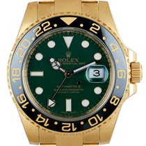 Rolex GMT-Master II Yellow gold 40mm Green United Kingdom, London