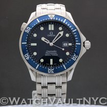 Omega 2541.80 Steel 1999 Seamaster 41mm pre-owned United States of America, New York, White Plains