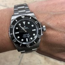 Rolex Submariner (No Date) Acier 41mm Noir Sans chiffres France, Beausoleil