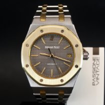 Audemars Piguet Royal Oak Gold/Steel 37mm Grey No numerals