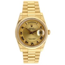 Rolex Day-Date 36 Yellow gold 36mm Roman numerals United States of America, Florida, Miami