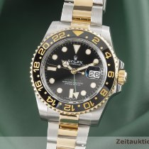 Rolex GMT-Master II Gold/Steel 40mm Black