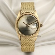 Rolex 1501 Yellow gold 1966 Oyster Perpetual Date 34mm pre-owned United Kingdom, London