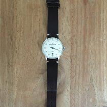 Meistersinger Neo Plus Steel 40mm Mother of pearl Arabic numerals