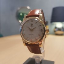 Omega Or blanc Remontage automatique Blanc occasion Seamaster