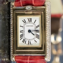 Cartier Tank (submodel) WA203251 Very good Yellow gold 32mm Quartz