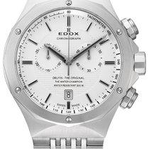 Edox 10108-3-AIN Neu Chronograph